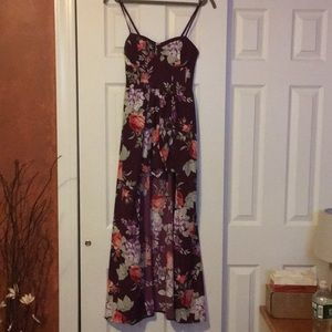 High low romper/dress